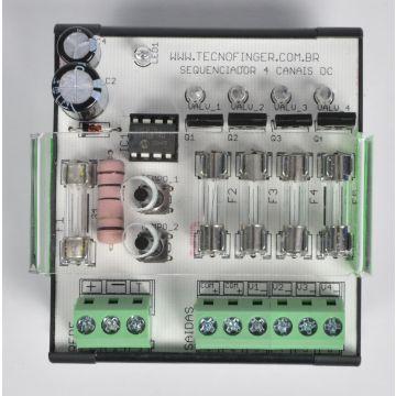 Sequenciador de Válvulas 4 Canais 12VDC