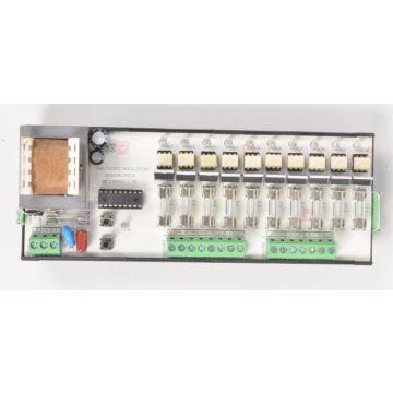 Sequenciador de Válvulas 10 Canais 220VAC