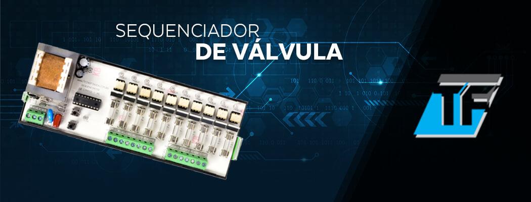 Sequenciador de Válvula - Tecnofinger